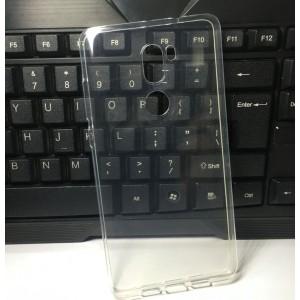 Силиконовый глянцевый транспарентный чехол для Xiaomi Mi5S Plus