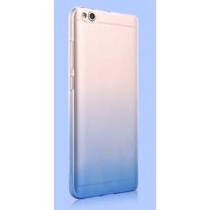 Силиконовый глянцевый полупрозрачный градиентный чехол для Xiaomi RedMi 4X