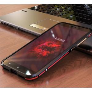Металлический округлый премиум бампер сборного типа на винтах для Xiaomi RedMi 4X