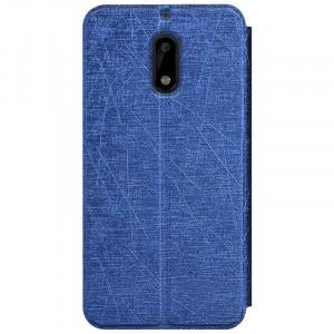 Чехол горизонтальная книжка подставка текстура Узоры на силиконовой основе для Nokia 6