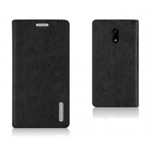 Винтажный чехол горизонтальная книжка подставка текстура Узоры на силиконовой основе и присосках с отсеком для карт для Nokia 6