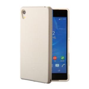 Силиконовый глянцевый непрозрачный чехол для Sony Xperia XA1