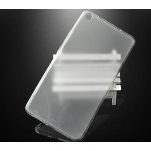 Силиконовый матовый полупрозрачный чехол для Lenovo Tab 3 7 Plus Белый