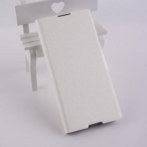 Чехол горизонтальная книжка подставка текстура Золото на силиконовой основе с отсеком для карт на магнитной защелке для Sony Xperia XA1 Ultra