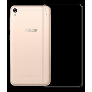 Силиконовый глянцевый транспарентный чехол для Asus ZenFone Live