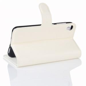 Чехол портмоне подставка на силиконовой основе с отсеком для карт на магнитной защелке для Asus ZenFone Live