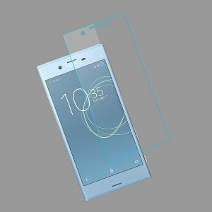 Ультратонкое износоустойчивое сколостойкое олеофобное защитное стекло-пленка для Sony Xperia XZ Premium