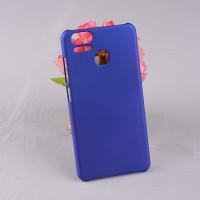 Пластиковый непрозрачный матовый чехол для Asus ZenFone 3 Zoom  Синий