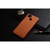 Чехол накладка текстурная отделка Кожа для Asus ZenFone 3 Zoom  Бежевый