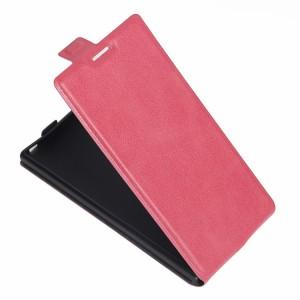 Чехол вертикальная книжка на силиконовой основе с отсеком для карт на магнитной защелке для Sony Xperia XZ/XZs