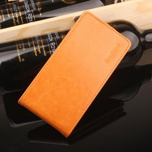 Глянцевый чехол вертикальная книжка на силиконовой основе на магнитной защелке для Meizu M5 Note