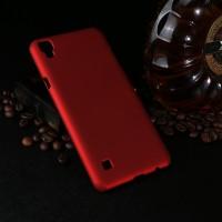 Пластиковый непрозрачный матовый чехол для LG X Power
