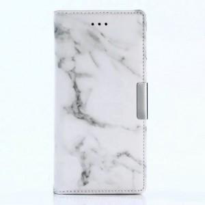 Чехол горизонтальная книжка подставка текстура Узоры на силиконовой основе с отсеком для карт для Nokia 3