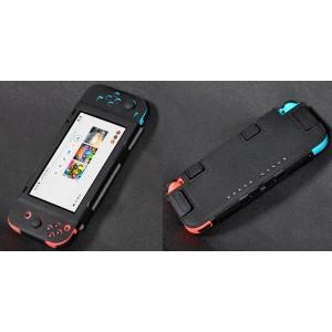 Чехол с рамочной защитой экрана на липучках для Nintendo Switch  Черный