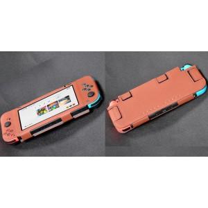 Чехол с рамочной защитой экрана на липучках для Nintendo Switch  Коричневый