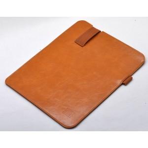 Кожаный мешок (иск. вощеная кожа) для Microsoft Surface Pro 4  Бежевый