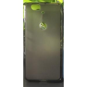 Силиконовый матовый полупрозрачный чехол с нескользящим софт-тач покрытием для Google Huawei Nexus 6P