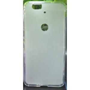 Силиконовый матовый полупрозрачный чехол для Google Huawei Nexus 6P Белый