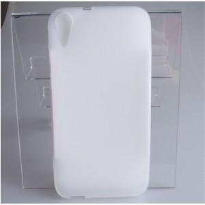 Силиконовый матовый непрозрачный чехол для HTC Desire 830