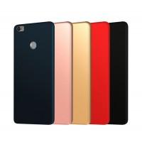 Силиконовый матовый непрозрачный чехол для Xiaomi Mi Max 2