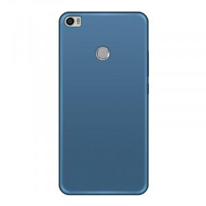Силиконовый матовый непрозрачный чехол для Xiaomi Mi Max 2 Синий