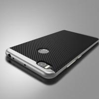 Противоударный двухкомпонентный силиконовый матовый непрозрачный чехол с поликарбонатными вставками экстрим защиты для Xiaomi Mi Max 2 Белый