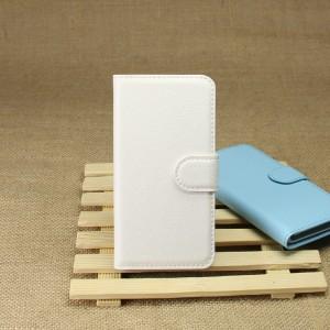 Чехол портмоне подставка на силиконовой основе на магнитной защелке для Sony Xperia Z1 Compact Белый