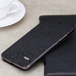 Чехол горизонтальная книжка подставка текстура Соты на силиконовой основе для Xiaomi Mi Max 2