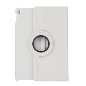 Роторный чехол книжка подставка на непрозрачной поликарбонатной основе для Ipad Pro 10.5 Белый
