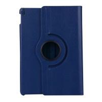 Роторный чехол книжка подставка на непрозрачной поликарбонатной основе для Ipad Pro 10.5 Синий