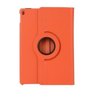 Роторный чехол книжка подставка на непрозрачной поликарбонатной основе для Ipad Pro 10.5 Оранжевый