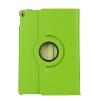 Роторный чехол книжка подставка на непрозрачной поликарбонатной основе для Ipad Pro 10.5 Зеленый
