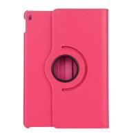 Роторный чехол книжка подставка на непрозрачной поликарбонатной основе для Ipad Pro 10.5 Пурпурный