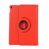 Роторный чехол книжка подставка на непрозрачной поликарбонатной основе для Ipad Pro 10.5 Красный