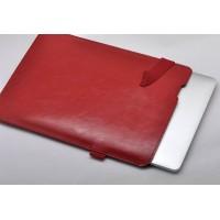 Кожаный мешок папка (иск. кожа) на резинке с поддержкой для стилуса для Ipad Pro 10.5 Красный