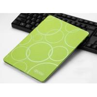 Чехол книжка подставка текстура Узоры на транспарентной силиконовой основе для Ipad Pro 10.5 Зеленый
