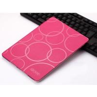 Чехол книжка подставка текстура Узоры на транспарентной силиконовой основе для Ipad Pro 10.5 Пурпурный