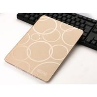 Чехол книжка подставка текстура Узоры на транспарентной силиконовой основе для Ipad Pro 10.5 Бежевый