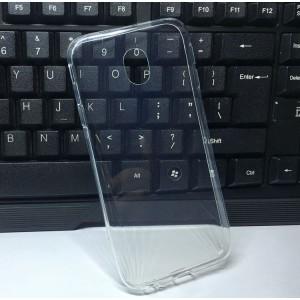 Силиконовый глянцевый транспарентный чехол для Samsung Galaxy J5 (2017)