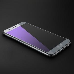 Полноэкранное ультратонкое износоустойчивое сколостойкое олеофобное защитное стекло-пленка для Huawei Honor 9 Серый