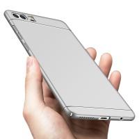 Пластиковый непрозрачный матовый чехол с улучшенной защитой элементов корпуса для Huawei Honor 9  Белый