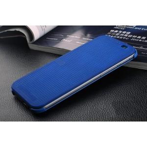 Точечный чехол флип с функциями оповещения для HTC Desire 830