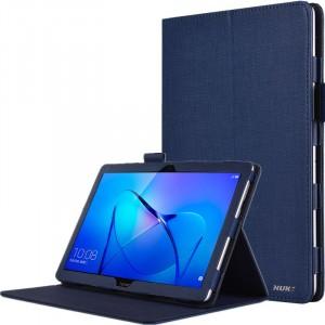 Чехол книжка подставка с рамочной защитой экрана и крепежом для стилуса для Huawei MediaPad T3 10