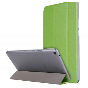 Сегментарный чехол книжка подставка текстура Золото на транспарентной поликарбонатной основе для Huawei MediaPad T3 8 Зеленый