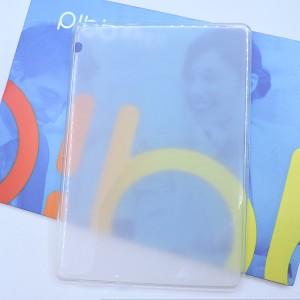 Силиконовый матовый полупрозрачный чехол для Huawei MediaPad T3 10 Белый