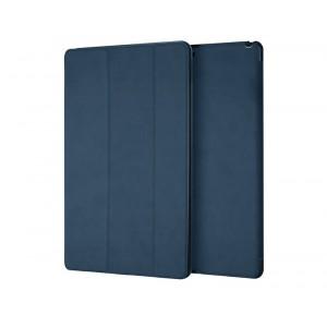Сегментарный винтажный чехол книжка подставка на непрозрачной поликарбонатной основе для Ipad Pro 10.5 Синий
