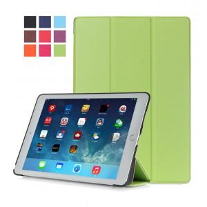 Сегментарный чехол книжка подставка на непрозрачной поликарбонатной основе для Ipad Pro 10.5  Зеленый