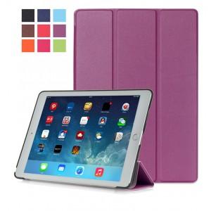 Сегментарный чехол книжка подставка на непрозрачной поликарбонатной основе для Ipad Pro 10.5  Фиолетовый