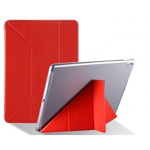 Оригами чехол книжка подставка на транспарентной силиконовой основе для Ipad Pro 10.5