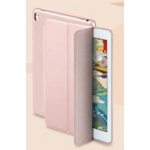 Сегментарный чехол книжка подставка на непрозрачной основе для Ipad Pro 10.5 Розовый